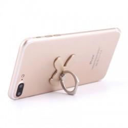 Rabbit 360 Degree Finger Ring Mobile Phone Stand Holder